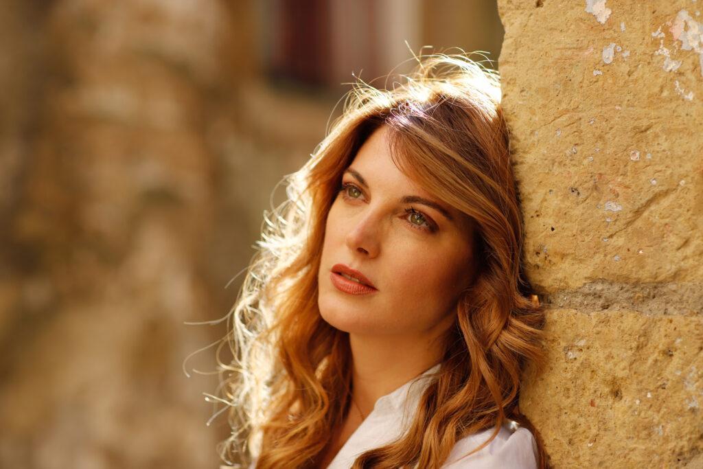 Angela Tuccia, interprete della strega Stria nella serie I Cavalieri di Castelcorvo