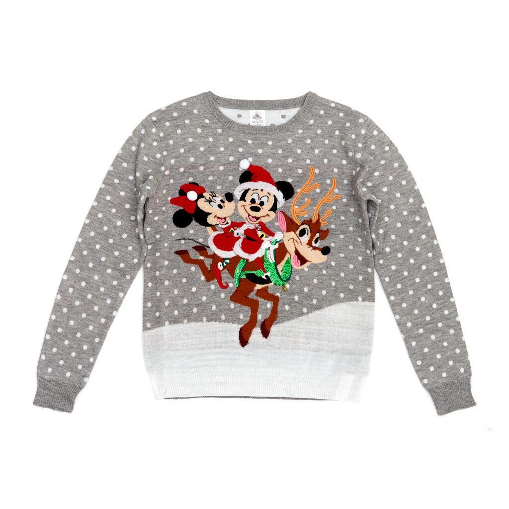 Il maglione natalizio di Topolino e Minni è in offerta per il Black Friday Disney 2020.