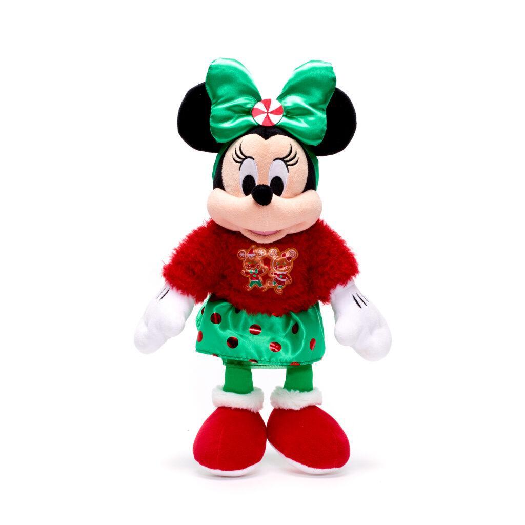 Il peluche di Minni natalizio è in offerta per il Black Friday Disney 2020.