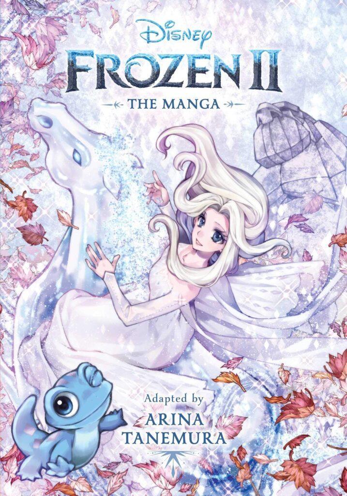 La copertina di Frozen 2 manga, il fumetto adattato da Arina Tanemura.