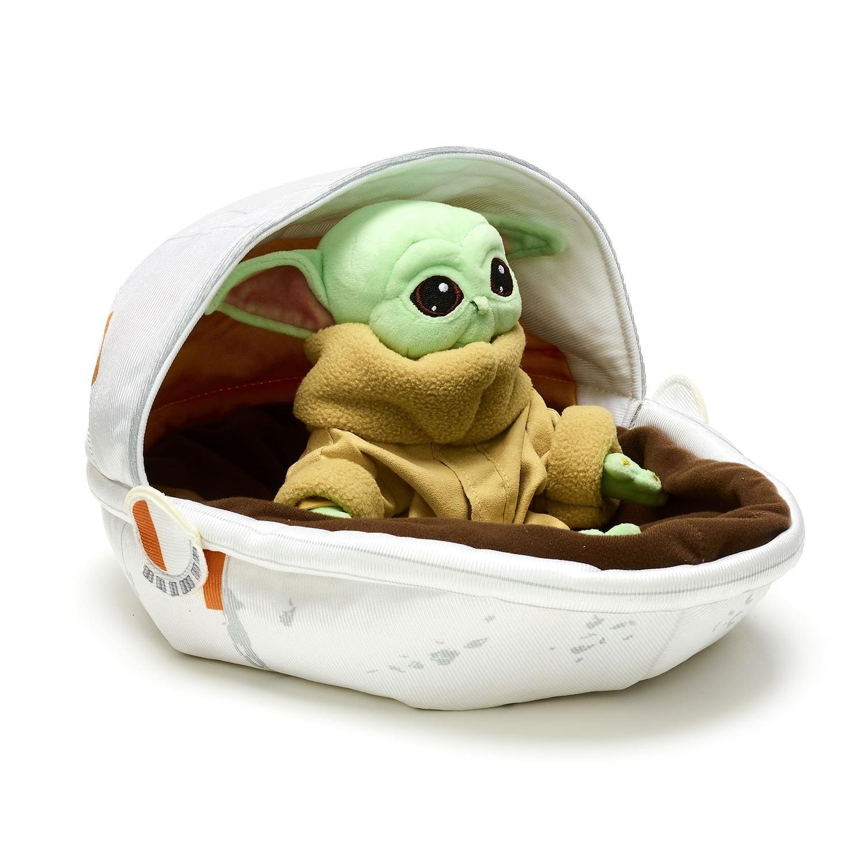 Gadget di Baby Yoda: il peluche nella culla shopDisney