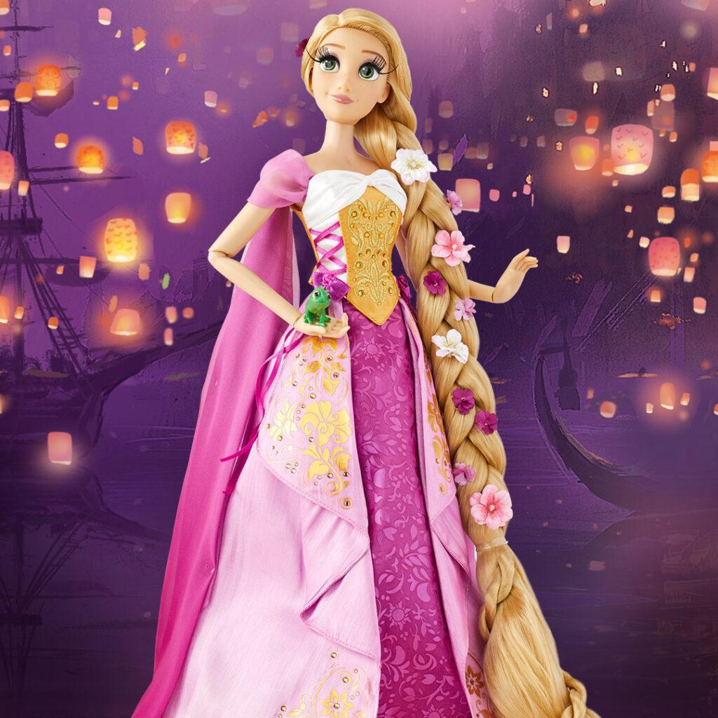 La bambola in edizione limitata per i 10 anni di Rapunzel.