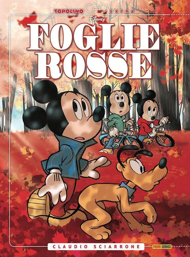 La cover della Extra Edition di Foglie Rosse di Claudio Sciarrone
