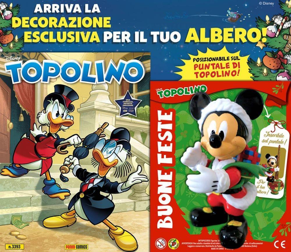 Topolino 3393 con addobbo