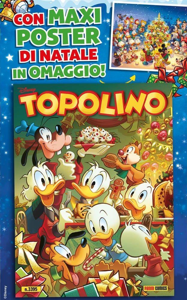 Topolino 3395 con maxiposter