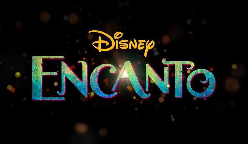 Il logo di Encanto, nuovo film dei Walt Disney Animation Studios.