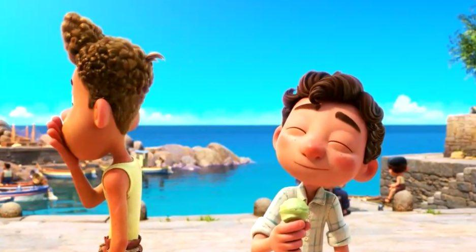 Le prime immagini di Luca, il film d'animazione Pixar ambientato in Italia in arrivo nel 2021.