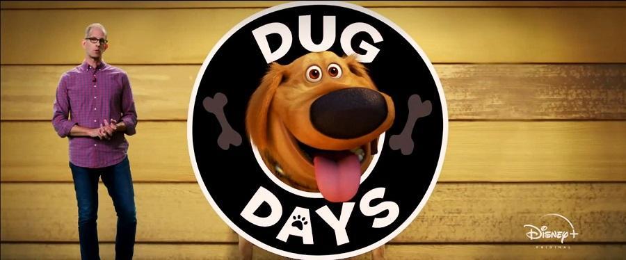 Il logo della serie Pixar Animation Dug Days