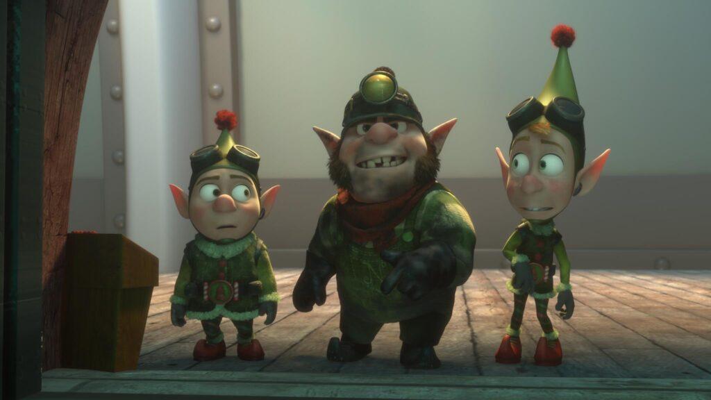 I protagonisti degli speciali natalizi di Prep & Landing