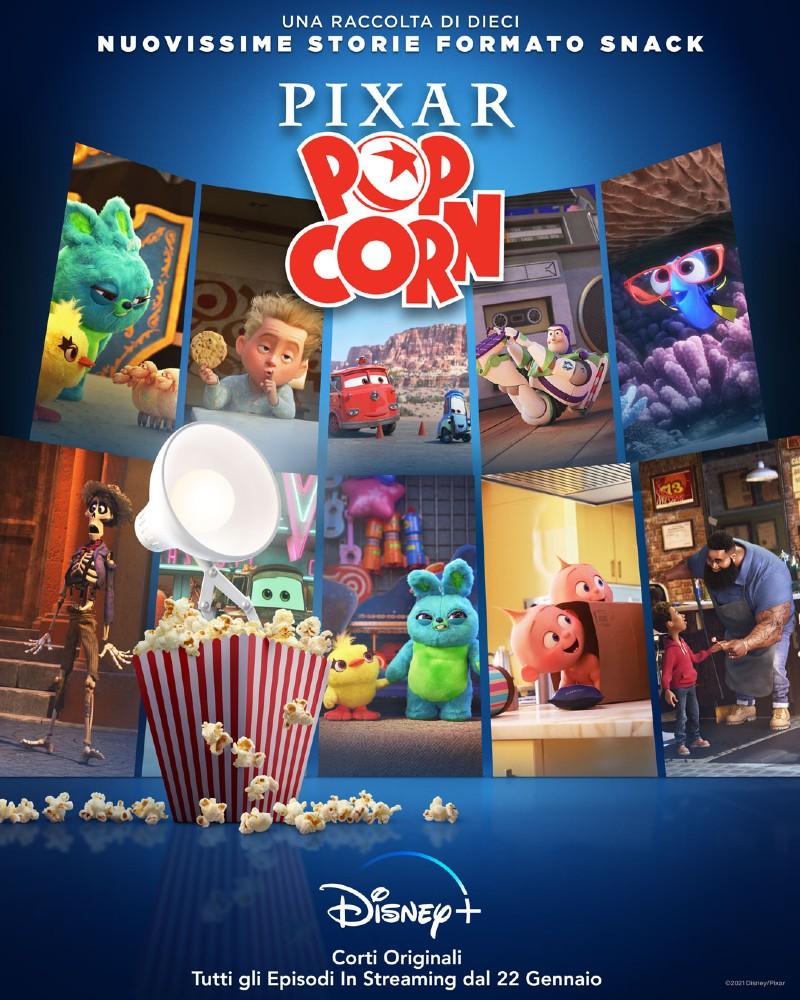 Pixar Popcorn: il trailer della nuova serie Disney+