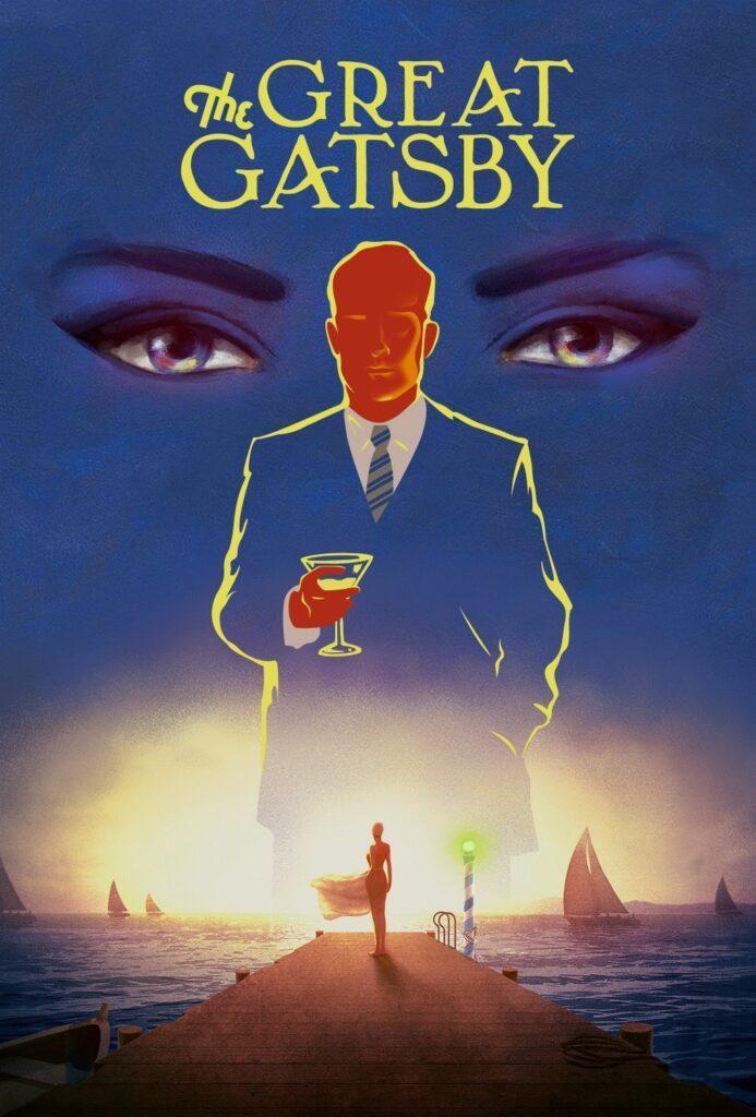Il poster di Il grande Gatsby, che diventerà presto un film d'animazione
