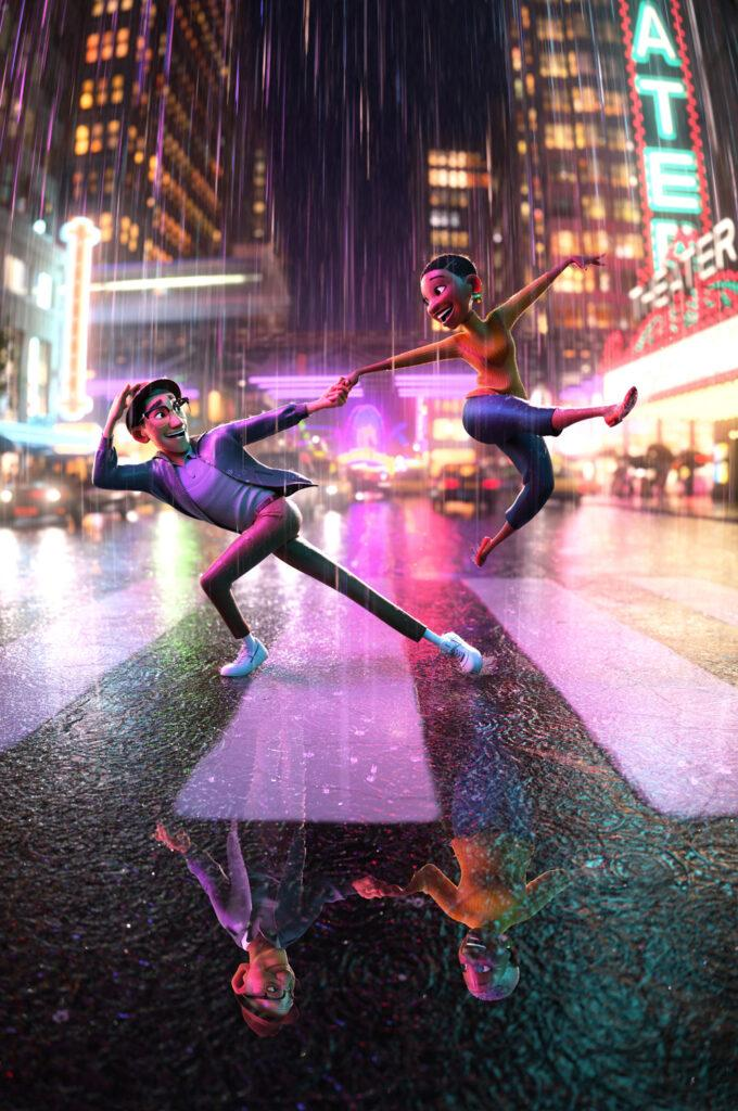 Locandina di Us Again, il nuovo cortometraggio Disney al cinema con Raya e l'ultimo drago.