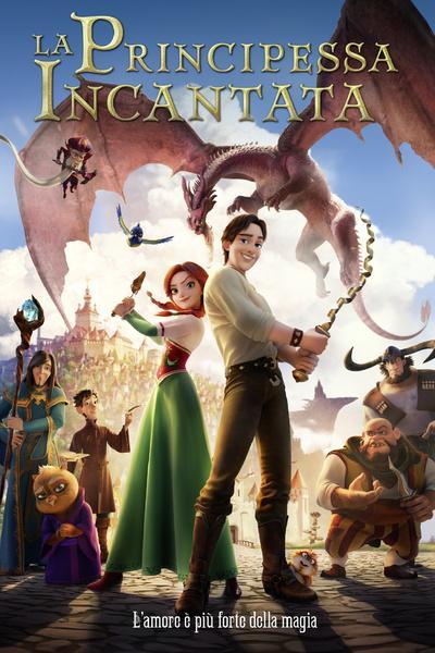 Il poster de La principessa incantata in arrivo in digitale il 1 aprile per Eagle Pictures.