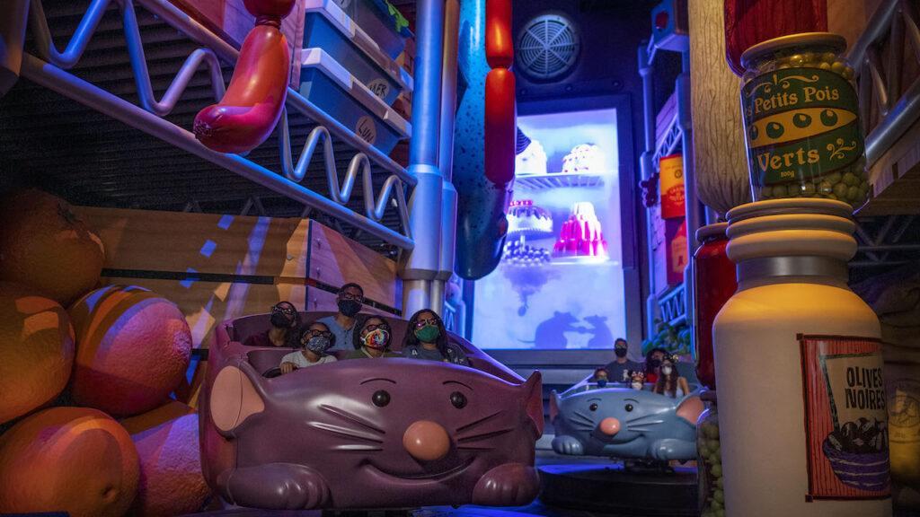 La nuova attrazione di Ratatouille e l'area dedicata alla Francia a Walt Disney World, Florida.