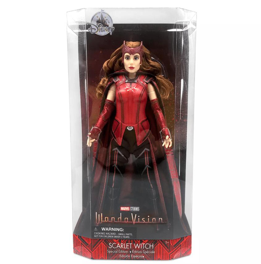 Scarlet Witch bambola in edizione speciale Disney Store