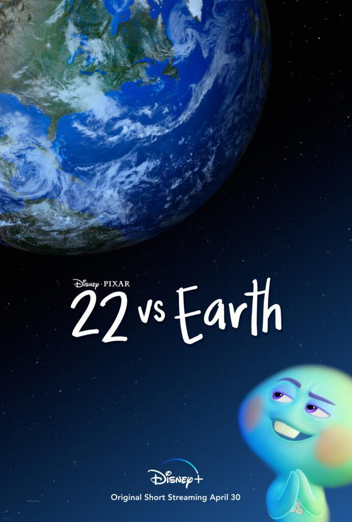 Il poster di 22 contro la Terra, in arrivo su Disney+.
