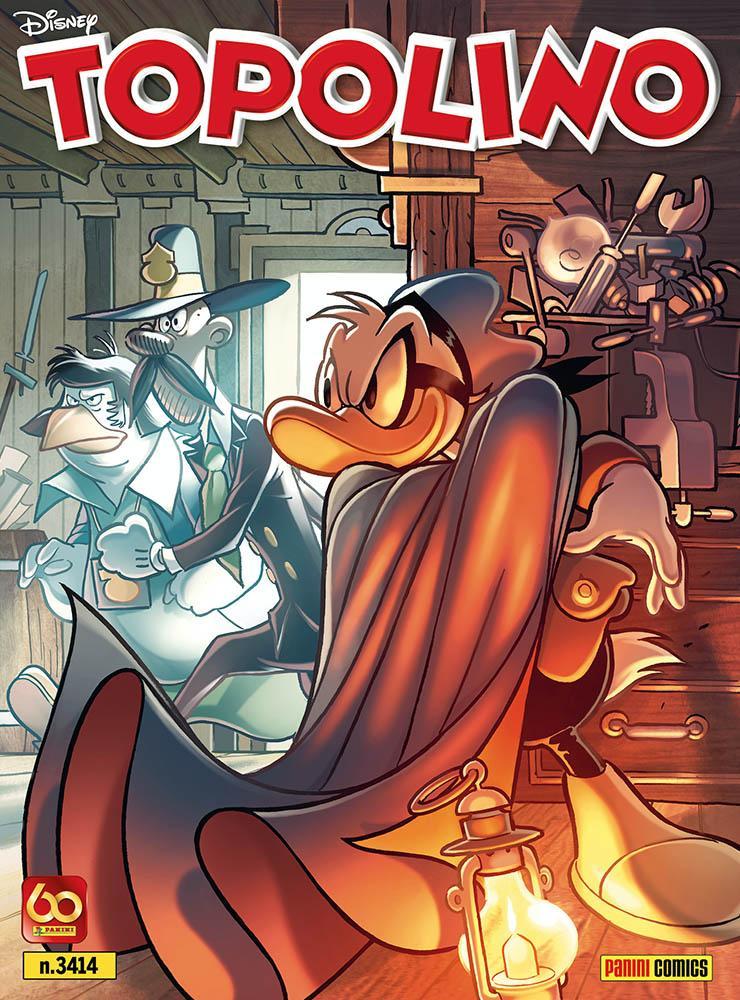 La cover di Topolino 3414