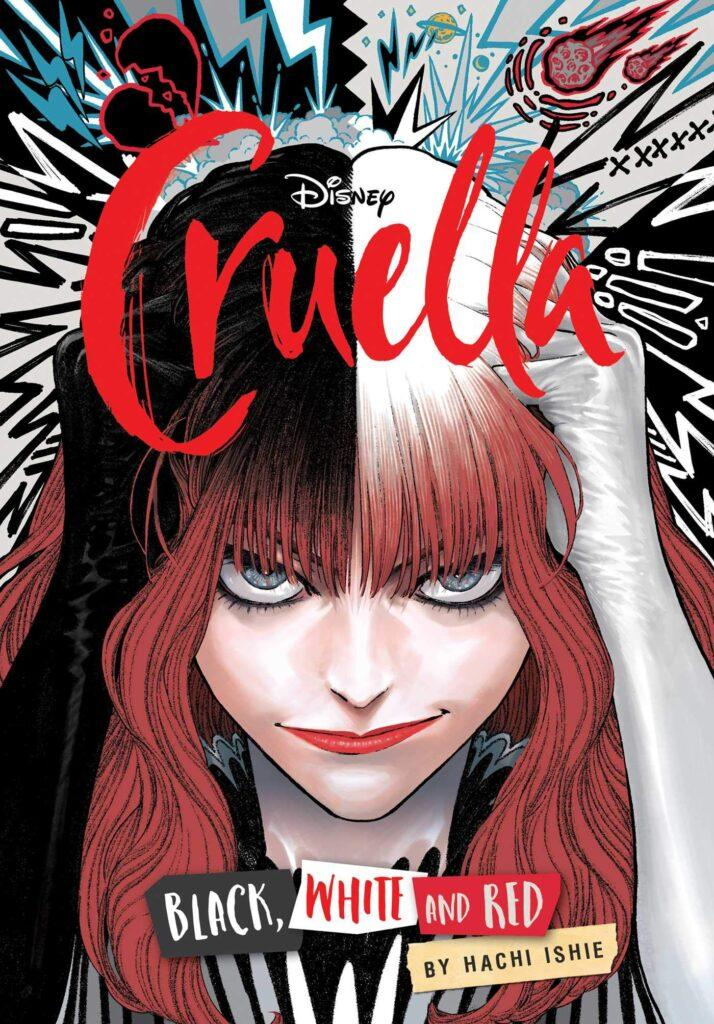 La cover del manga di Crudelia (Cruella) ispirato al film Disney.