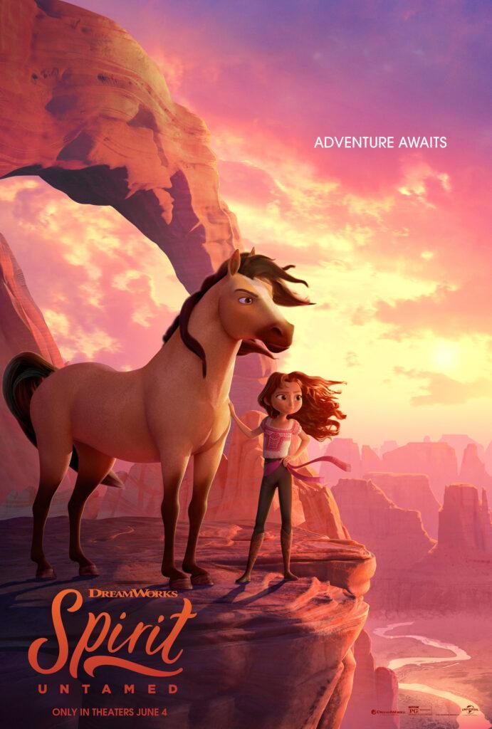 Il poster di Spirit - Il Ribelle, il prossimo film DreamWorks Animation