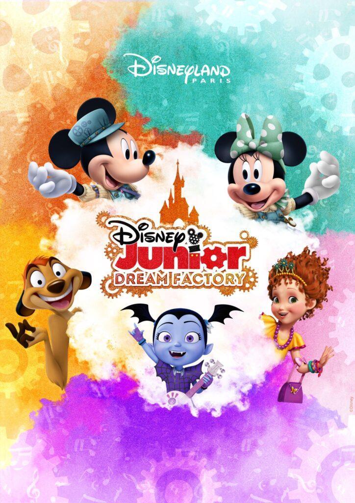 La Fabbrica dei Sogni Disney Junior è il nuovo spettacolo per bambini di Disneyland Paris.