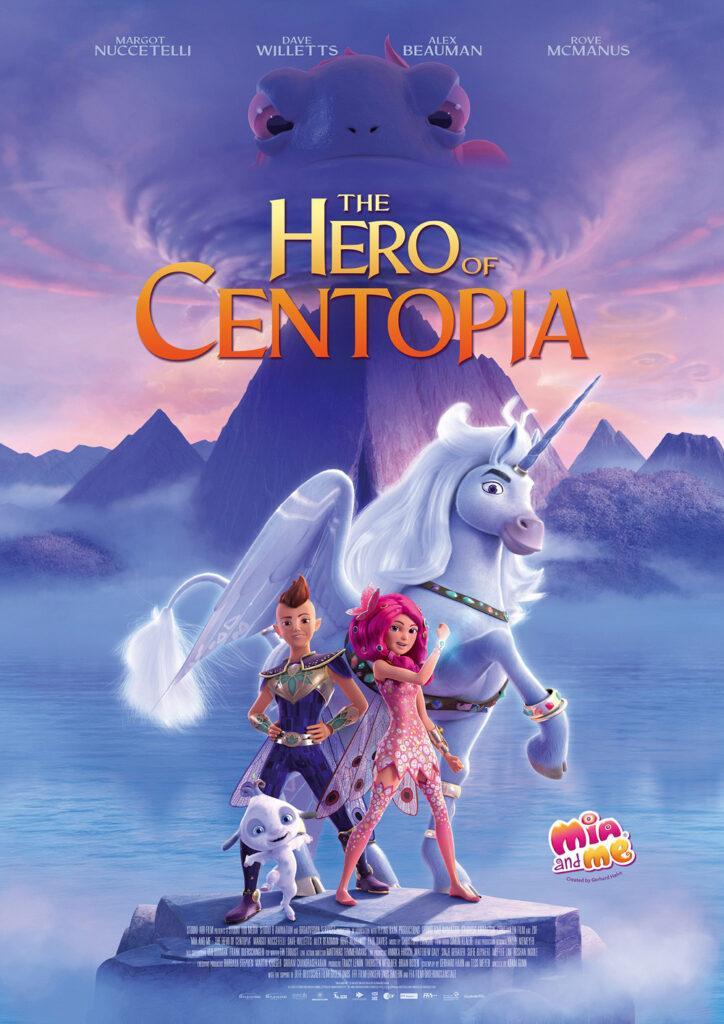 Il poster di Mia and me: The Hero of Centopia, in arrivo a fine 2021.