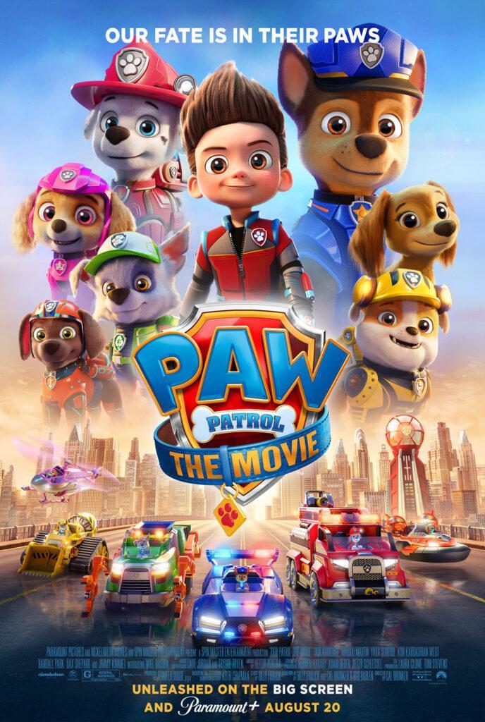 Il poster di Paw Patrol: The Movie