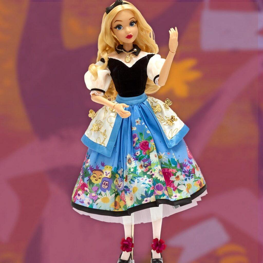 La bambola in Edizione Limitata di Alice nel Paese delle Meraviglie