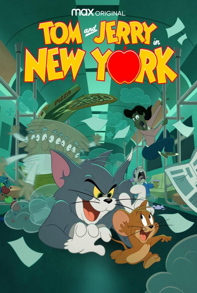 Poster di Tom & Jerry a New York, la nuova serie animata