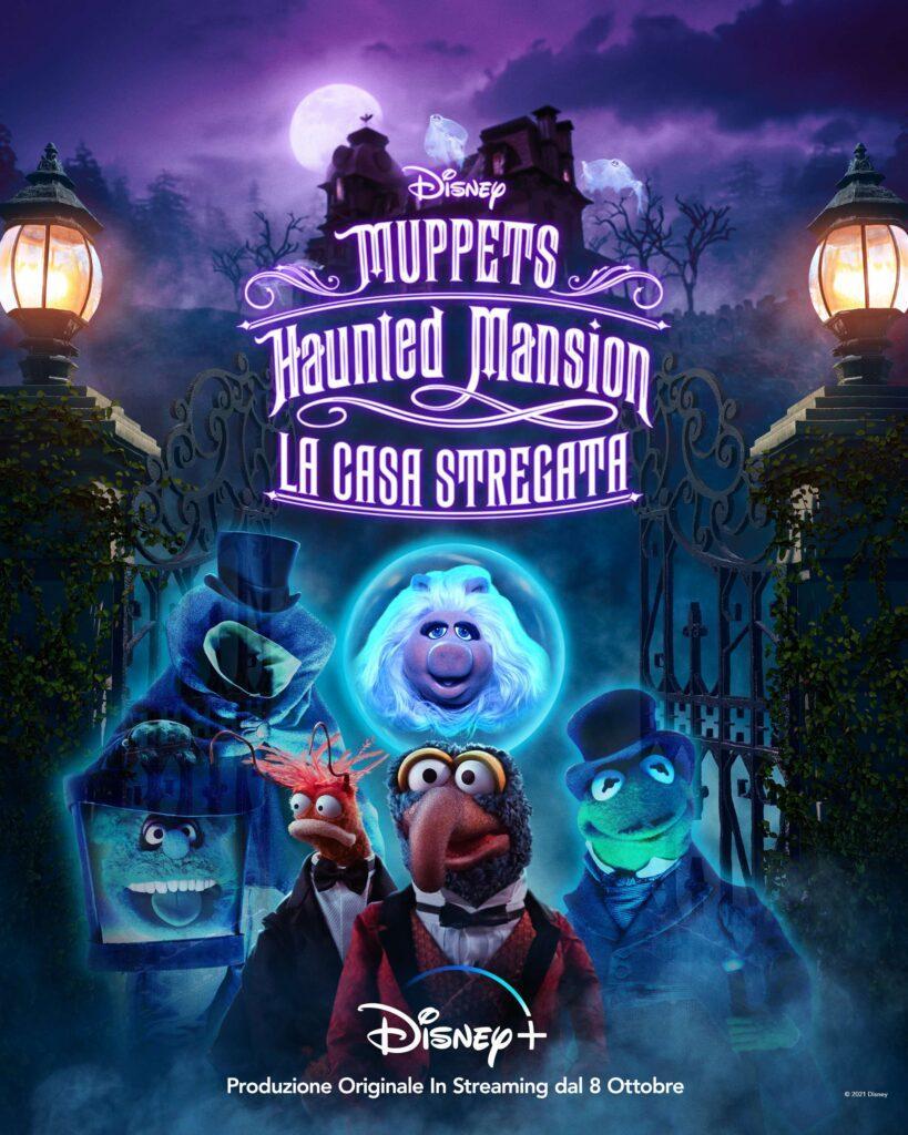 Il poster italiano di Muppets Haunted Mansion