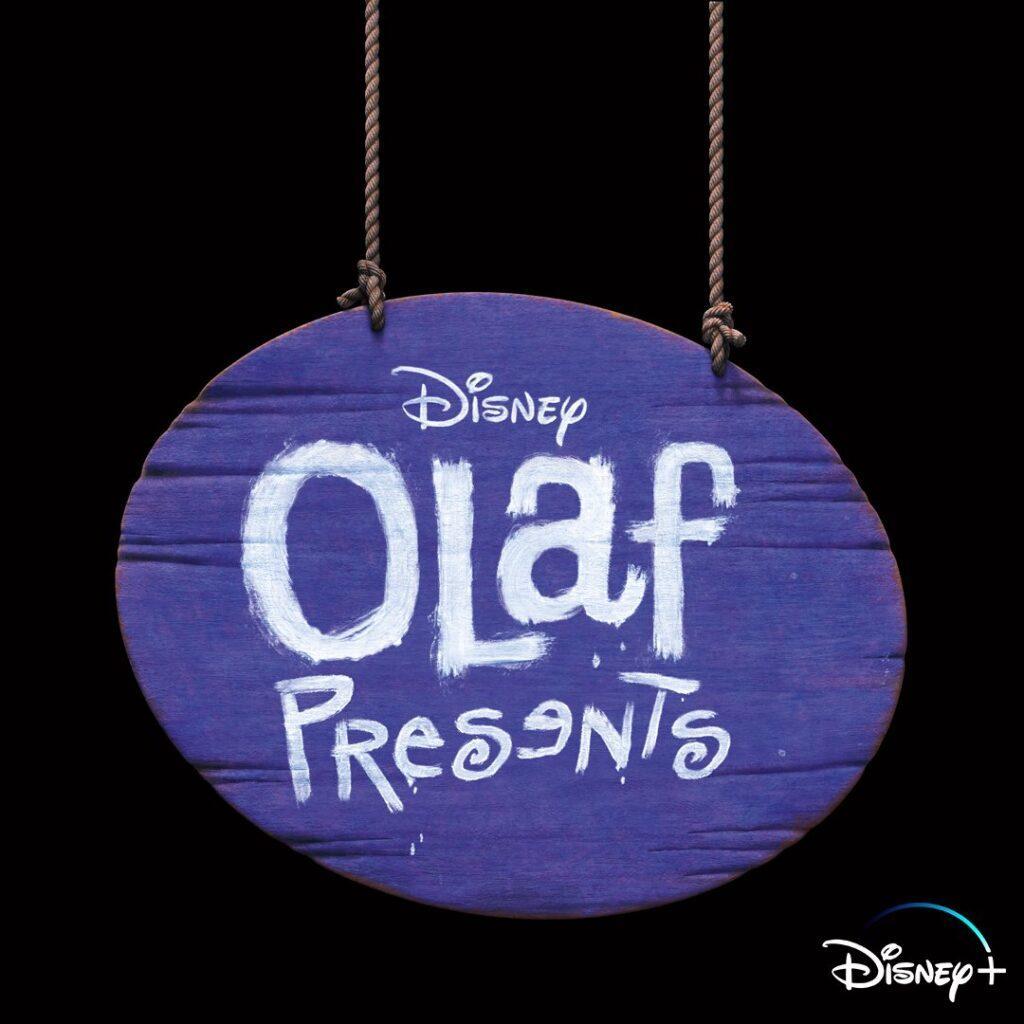 Il logo di Olaf Presenta, in arrivo su Disney+ a novembre.
