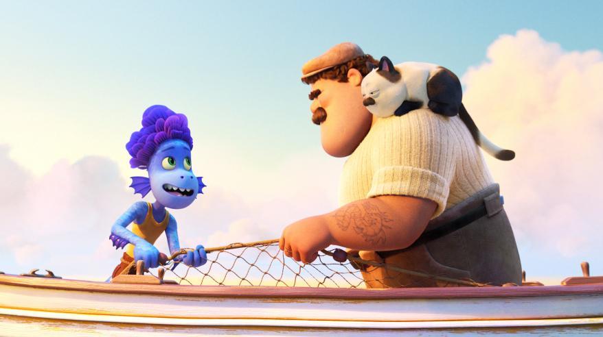 Ciao Alberto è il nuovo cortometraggio Pixar con i personaggi di Luca.