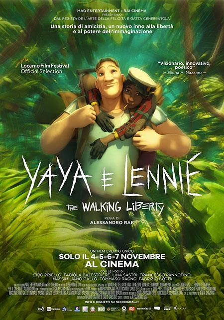 Il poster di Yaya e Lennie - The Walking Liberty.