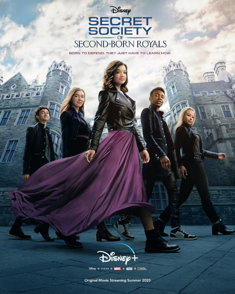 Secret Society of Second-Born Royals, prime immagini del film in arrivo su  Disney+